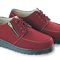 harga Sepatu Boot Wanita, Sepatu Perempuan Merah Marun, Cewek Keren,b-lsw346 Tokopedia.com