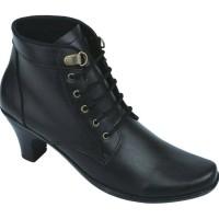 Sepatu Wanita, Sepatu Boots, Sepatu Kerja Boots Hitam