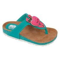 harga Sandal Flat Anak Perempuan   Toska - Catenzo Junior CKK 048 Tokopedia.com