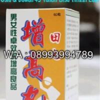 Cara Meninggikan Badan, dengan Herbal Hongkong Super