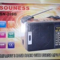Radio Support USB / Micro SD MP3 Player + 1 LED Senter