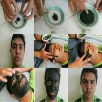 Masker Lumpur Spirulina Tiens Paket 50 Kapsul