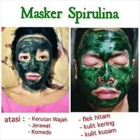Masker Wajah Spirulina Tiens Paket 50 Kapsul