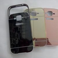 Samsung Galaxy Grand Duos/Neo Metal Bumper Mirror Slide Back Cover