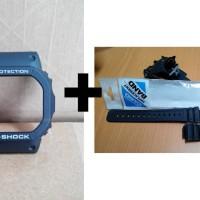 [Paket] Bezel G-Shock DW-5030-1 + Strap G-Shock DW-5600-1