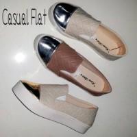 Sepatu Casual Jelly Shoes Cowok Pria Cewek Wanita Millenium Murah