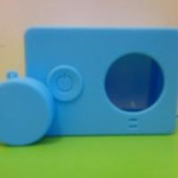 Paling Laku-> Case Silicon Camera Xiaomi Yi High Quality Biru / Blue