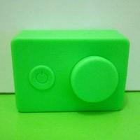 Paling Laku-> Case Silicon Camera Xiaomi Yi High Quality Hijau / Green