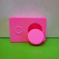 Paling Laku-> Case Silicon Camera Xiaomi Yi High Quality Pink