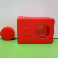 Paling Laku-> Case Silicon Camera Xiaomi Yi High Quality Merah / Red
