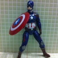 Captain America Civil War Marvel Avengers Steve Rogers Shield Kw