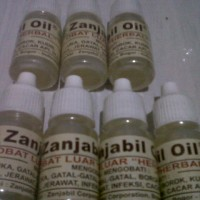 Obat Jerawat, Bisul, Luka, Cacar Herbal Zanjabil Oil Buatan Indonesia.