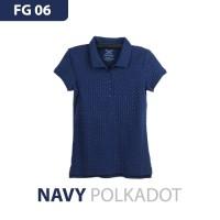 Faded Glory Women Polo Shirt Original Pakaian Kaos Kerah Atasan Wanita