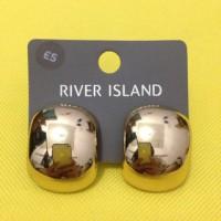 River Island Earrings Anting River Island Anting Metal Anting Pesta