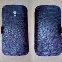 harga Sarung Hp Leather Flip Case Bolt Zte V9820 Kulit Sapi Asli (crocodile) Tokopedia.com