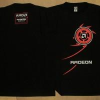 Kaos Distro Gamers AMD RADEON Hitam (RAD005)