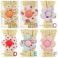 Flower Curtain Holder/ Penghias Gorden (sepasang)