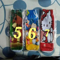Kaos Kaki Karakter Anak Pooh, Pororo, Mickey, Hk, Minion, Marsha N The Bear