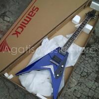 harga Gitar Elektrik Jtr Sv20bl Blue Slivia Series By Samick Tokopedia.com