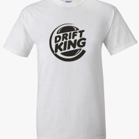 Kaos Drift King Jdm / T Shirt Otomotif Drift King