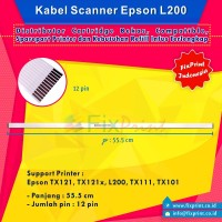 Kabel Scanner Epson TX121 L200 tx121x NEW (1 Pair)