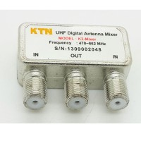 Mixer 2 antena UHF jadi 1 (UHF Digital Antenna Mixer )