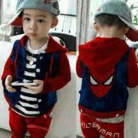 Set Polo Spider Kid