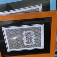 Pigura frame bingkai foto photo warna warni ukuran 10R bahan fiber
