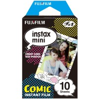 Fujifilm Instax Paper Mini Instant Color Film Comic