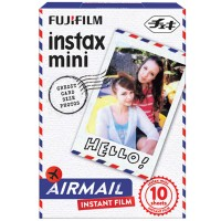 Fujifilm Instax Paper Mini Instant Color Film Air Mail