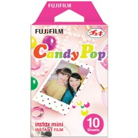 Fujifilm Instax Paper Mini Instant Color Film Candy Pop
