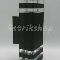 Lampu Pilar 2 Arah Kotak - 519/2A