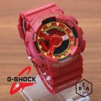 Casio G-Shock GA-110 KW Merah Manchester FOOTBALL CLUB SERIES