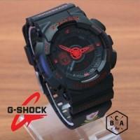Casio G-Shock GA-110 KW Hitam Merah LIVERPOOL FOOTBALL CLUB SERIES
