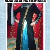 Syari Gamis IMPORT FROM SAUDY + SYAHLA