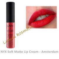 Nyx Lip Cream - Amsterdam 100% Matte Long Lasting 24hours