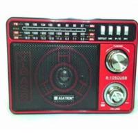 Jual Radio/Radio portable Asatron R-1050 USB/emergency lamp Murah
