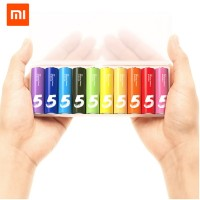 harga Xiaomi Zi5 Rainbow Alkaline Battery Aa Set Colorful - 10pcs Tokopedia.com