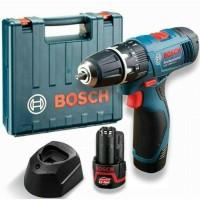 Mesin Cordless Drill GSR 1080 2-Li Bor Baterai 10,8 Volt