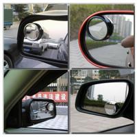 Kaca Spion Kecil Mobil Sudut 360 Derajat Blind Spot Mirror 1set Isi 2