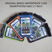 Bingo Waterproof Case Smartphone Hitam Max 5.5 Inch