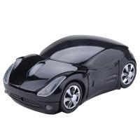 Wireless Optical Mouse Unik Ferrari - HITAM