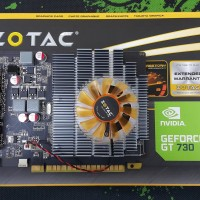 VGA CARD Zotac GT 730 2GB DDR3 128Bit