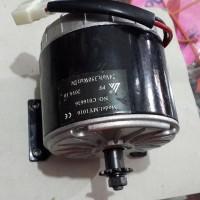 Dinamo skuter motor sepeda listrik 24 volt 350 watt