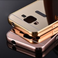 Luxury Aluminum Mirror Bumper Hard Back Case Samsung Galaxy Core Prime