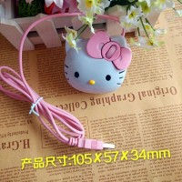 Mouse 3D Kepala - Hello Kitty