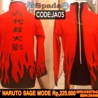 jaket naruto sage mode,jaket hokage 6 kakashi hatake (spade anime)