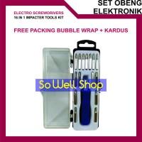 Obeng Elektronik Handphone 16 In 1 Student Tool Kit