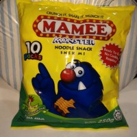 Mamee Monster Noodle Snack Chicken Flavour