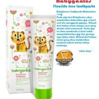 BabyGanics Fluoride free toothpaste watermelon (pasta gigi anak)